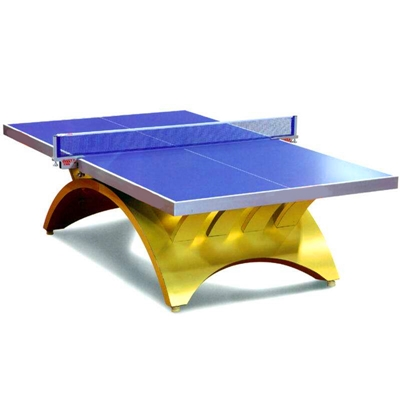What are the specifications of a standard table tennis table?