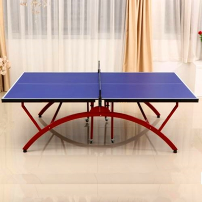 Folding mobile table tennis table