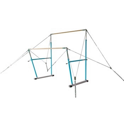 High grade gymnastics equipment asymmetrical bars competition uneven bars