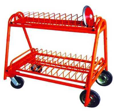University Gym durable athletic equipment discus carrying cart