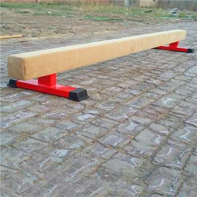 Children's gymnastic equipment balance beam and mat set